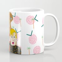 home alone Mugs featuring Home alone? by Elena Éper