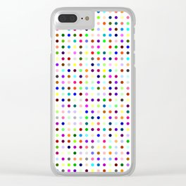 Big Hirst Polka Dot Clear iPhone Case