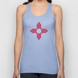 New Mexico Flag Unisex Tank Top