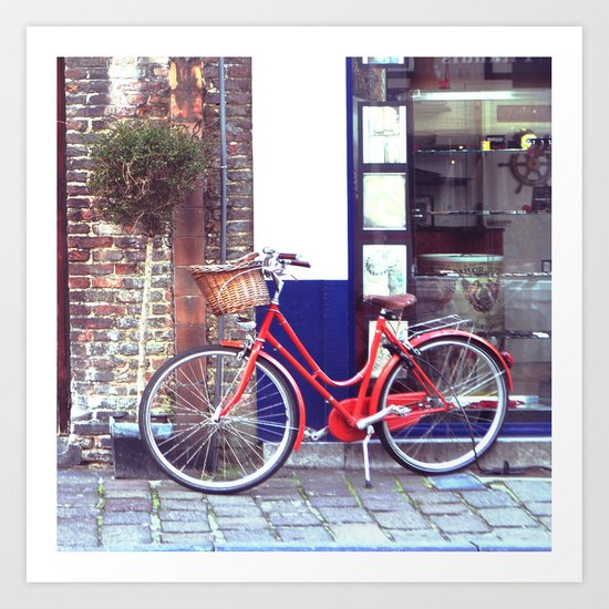 Let's go for a ride Art Print