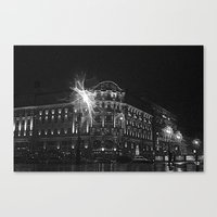 moscow Canvas Prints featuring Moscow by Arnochitects