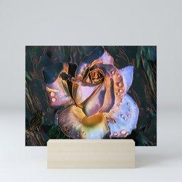 Mother of Pearl Rose Mini Art Print