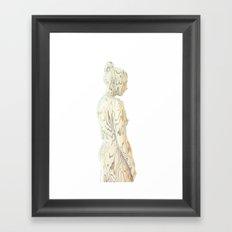 Liz Gold Framed Art Print