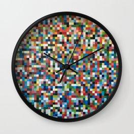 Pixels Wall Clock