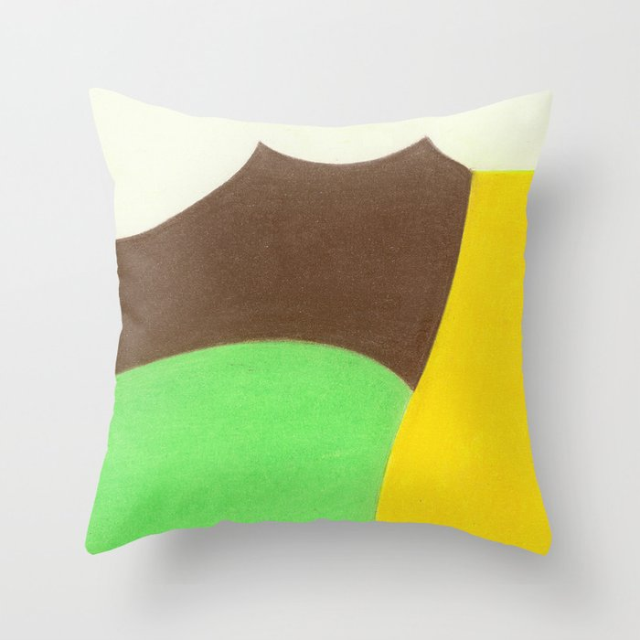 Ford Pistache Throw Pillow