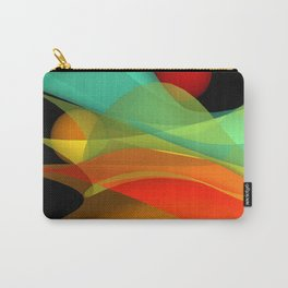 bicubic waves -4- Carry-All Pouch