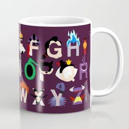 Evil-phabet Coffee Mug