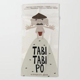 Tabi Tabi Po (Philippine Mythological Creatures Series) Beach Towel
