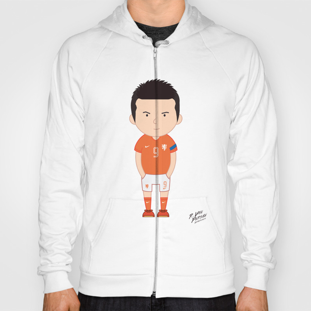 Robin Van Persie - Netherlands - World Cup 2014 Hoody by Toonsoccer SSR9019159