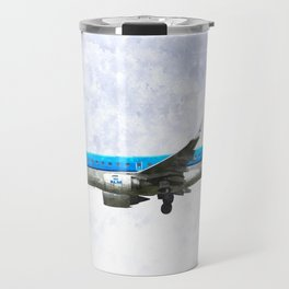 KlM Embraer 190 Travel Mug