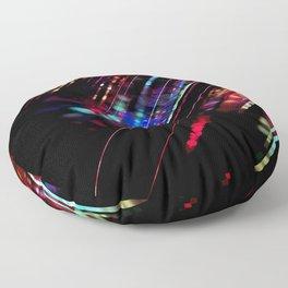 Meteor Rainbow Floor Pillow