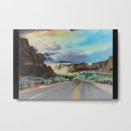 Spirit Canyon Metal Print