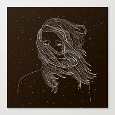 Space wind Canvas Print