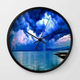 Majestic Rain Wall Clock