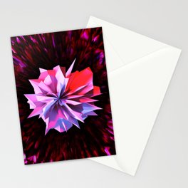 Crystaline Bloom Stationery Cards