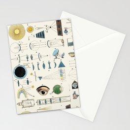 Optics Stationery Cards