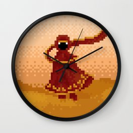 Pixelized: Journey Wall Clock