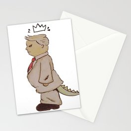 king Trump Stationery Cards