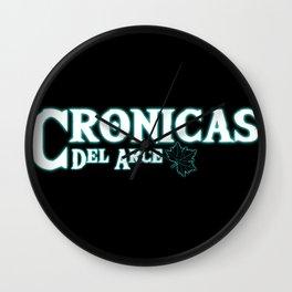 Crónicas del Arce Logo Wall Clock