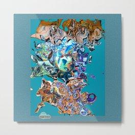 Art meltdown Metal Print