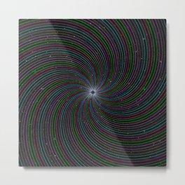 Interstellar Threads Metal Print
