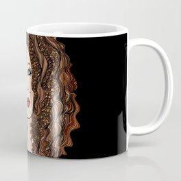 She Rolled Her Eyes Coffee Mug
