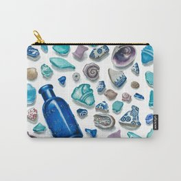 Bits From The Sea Carry-All Pouch