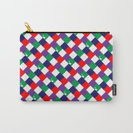 70's Squares Carry-All Pouch