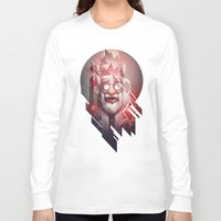 doom Long Sleeve T-shirts featuring King of Doom by Dr. Lukas Brezak