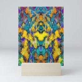 Yellow colour reaction Mini Art Print