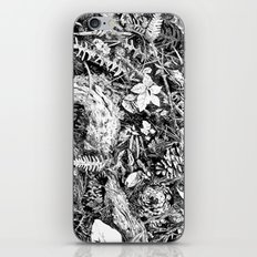 Inky Undergrowth iPhone & iPod Skin