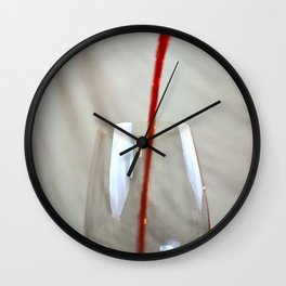 Art Of The Pour Wall Clock