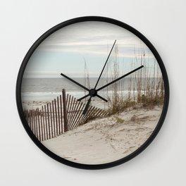 Sandbrake at the Beach Wall Clock