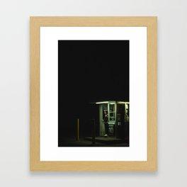 Stay Posted Framed Art Print
