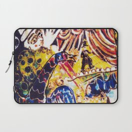 LIFE is a Circus           by Kay Lipton Laptop Sleeve