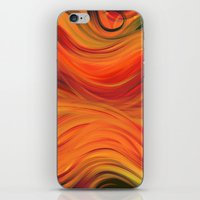fabric iPhone & iPod Skins featuring fabric by Cool-Sketch-Len