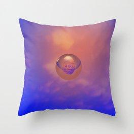 Inner peace Throw Pillow