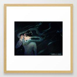 The Heir of Slytherin Framed Art Print
