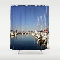 australia Shower Curtains featuring Paynesville - Australia by Chris' Landscape Images & Designs
