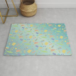 An Aquatic Life Rug