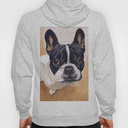 French Bulldog Gouache Artwork Hoody