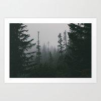 dark days Art Print