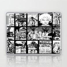 WHITE - A nne Frankenstein Book I - Resurrection Laptop & iPad Skin