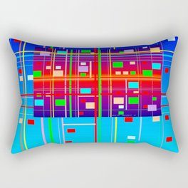 New Year's Rectangular Pillow