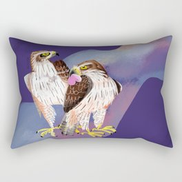 Totem Bonelli´s Eagle (GREFA) Ultraviolet Rectangular Pillow