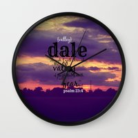 dale cooper Wall Clocks featuring Dale by KimberosePhotography