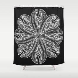 GS Geometric Abstrac 08AM Shower Curtain