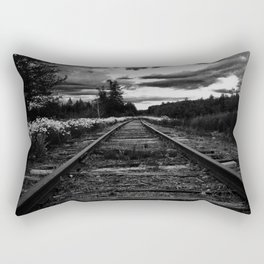 Historic Infrastructure in Disuse and Disrepair Rectangular Pillow