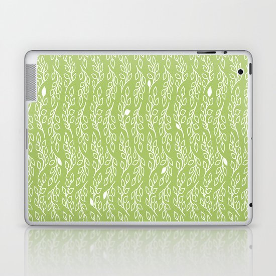 Pop Flowers Leaves Laptop & iPad Skin
