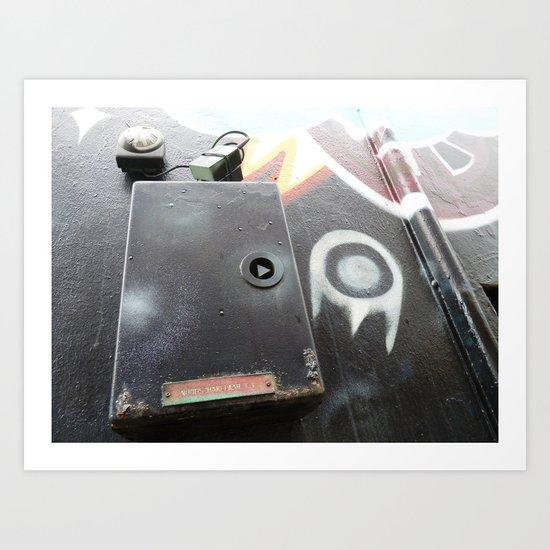 Urban Abstract 89 Art Print